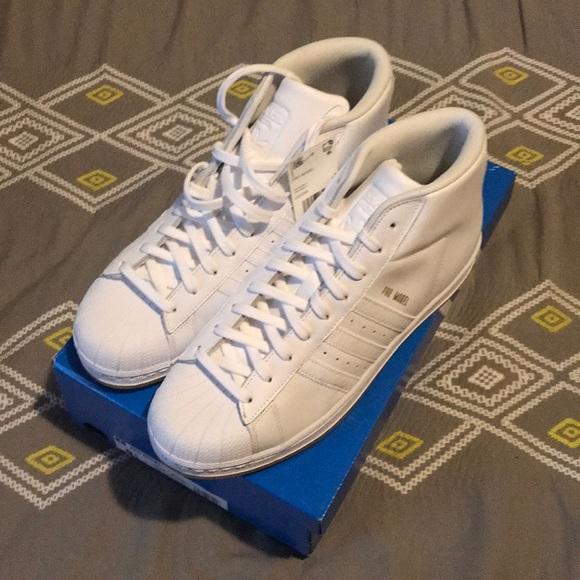 393f719434d9 Adidas Pro Model Hi-Top (Size 9.5)